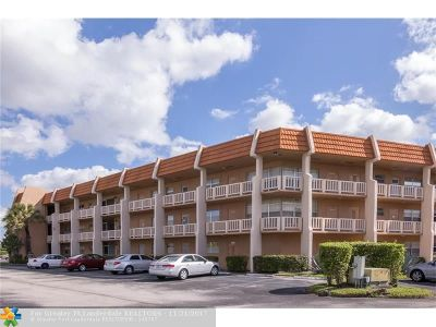 Margate Condo/Townhouse For Sale: 6650 Royal Palm Blvd #303