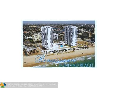 Pompano Beach Condo/Townhouse For Sale: 1370 SE Ocean Blvd #2008