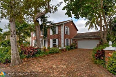Wilton Manors Single Family Home For Sale: 611 Kensington Pl