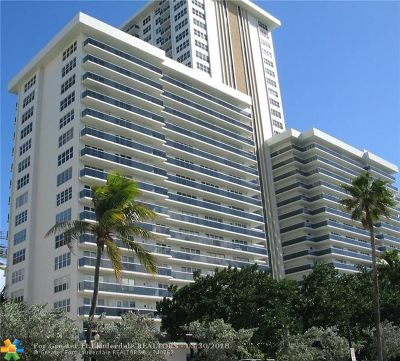 Condo/Townhouse Sold: 3500 Galt Ocean Dr #210