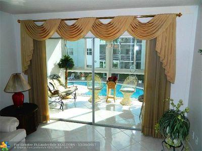 Pompano Beach Condo/Townhouse For Sale: 1461 S Ocean Blvd #226