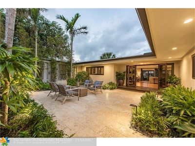 Fort Lauderdale Single Family Home For Sale: 2613 Barbara Dr