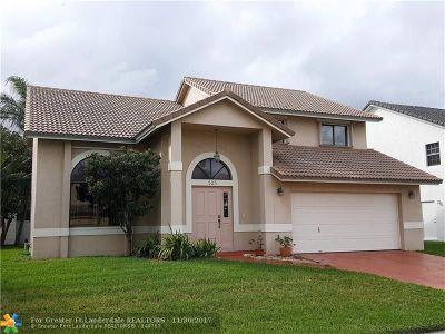 Dania Single Family Home For Sale: 525 SE 4th Ct