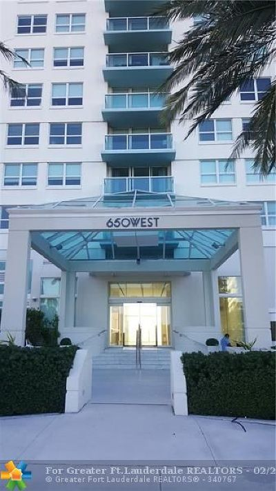 Miami Beach Condo/Townhouse For Sale: 650 West Ave #601