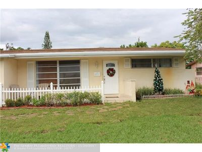 Sunrise Single Family Home For Sale: 8387 NW 26th St