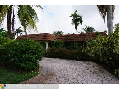 Wilton Manors Single Family Home For Sale: 640 NW 25th St