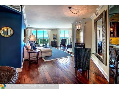 Fort Lauderdale Condo/Townhouse For Sale: 347 N New River Dr #2410