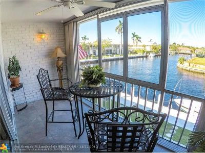 Fort Lauderdale Condo/Townhouse For Sale: 3201 NE 36th St #24