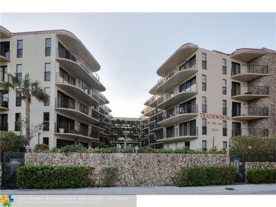 Broward County Condo/Townhouse For Sale: 2029 N Ocean Bl #503