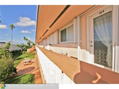 Hallandale Condo/Townhouse For Sale: 900 SW 11th Ave #12A