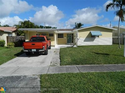 Broward County Single Family Home For Sale: 1023 N 32nd Ave