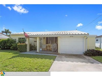 Fort Lauderdale Single Family Home For Sale: 1116 Mango Isle