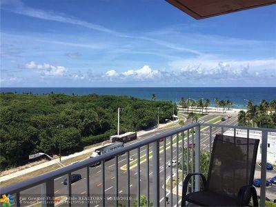 Fort Lauderdale Condo/Townhouse For Sale: 3000 E Sunrise Blvd #8A