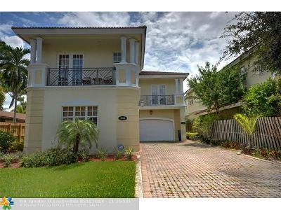 Wilton Manors Condo/Townhouse For Sale: 1380 NE 24th Street #1380