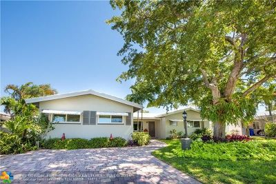 Fort Lauderdale Single Family Home For Sale: 5742 NE 17th Ave