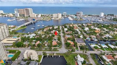 Fort Lauderdale Single Family Home For Sale: 359 Poinciana Drive