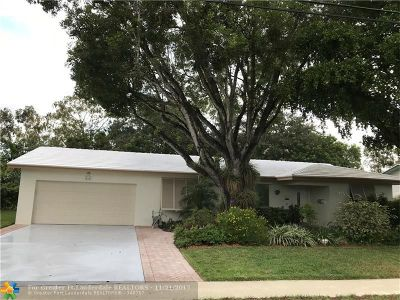 Plantation Single Family Home For Sale: 580 NW 43rd Ave