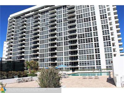 Pompano Beach Condo/Townhouse For Sale: 531 N Ocean Blvd #1705