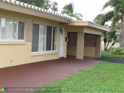 Fort Lauderdale Single Family Home For Sale: 537 W Evanston Cir