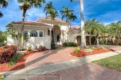 Plantation Single Family Home For Sale: 10865 Blue Palm St