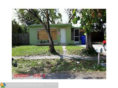 West Park Single Family Home For Sale: 4520 SW 39th St