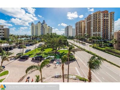 Fort Lauderdale Condo/Townhouse For Sale: 2100 N Ocean Blvd #5E