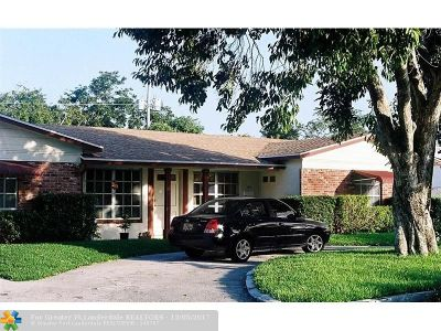 Deerfield, Deerfield Beach Estates 3, Deerfield Beach Estates S, Deerfield Beach Gardens, Deerfield Dev & Land Co S, Deerfield Pines North Con, Deerfield Ridge, Deerfield Ridge Sec 1, Deerfield Ridge Sec 1 38- Multi Family Home For Sale: 104 NE 9th Ave