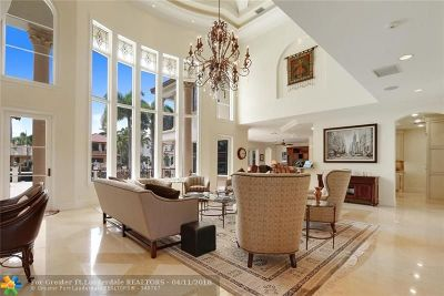 Fort Lauderdale Single Family Home For Sale: 709 Isle Of Palms Dr