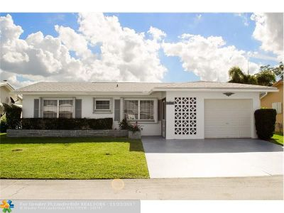 Tamarac Single Family Home For Sale: 7300 NW 59th St