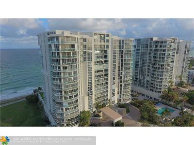 Hollywood Condo/Townhouse Backup Contract-Call LA: 6051 N Ocean Dr #1202