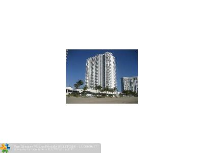 Pompano Beach Condo/Townhouse For Sale: 1360 S Ocean Blvd #502