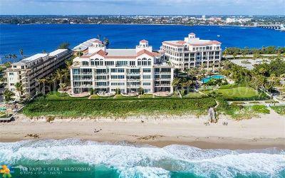 Palm Beach Condo/Townhouse For Sale: 3000 S Ocean Bl #304