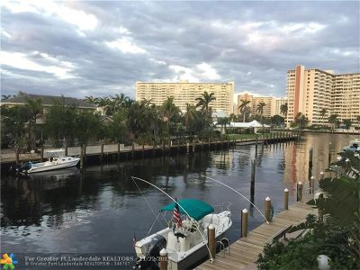 Fort Lauderdale Condo/Townhouse For Sale: 2881 NE 33rd Ct #2C