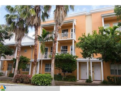 Fort Lauderdale Condo/Townhouse For Sale: 424 SW 13 Ter #424