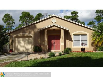 Loxahatchee Single Family Home For Sale: 15553 74th St