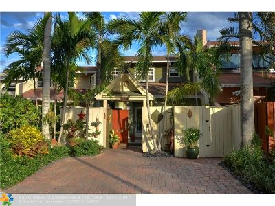 Fort Lauderdale Condo/Townhouse For Sale: 224 NE 16th Ter #224
