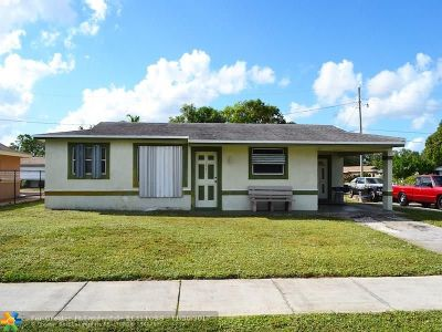 Lauderhill Single Family Home Backup Contract-Call LA: 1441 NW 33rd Ter