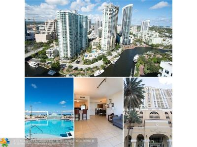 Fort Lauderdale Condo/Townhouse For Sale: 511 SE 5th Ave #903
