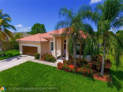 Coral Springs Single Family Home For Sale: 5696 NW 109th Ln