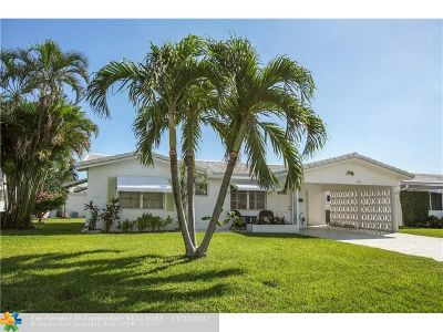 Pompano Beach Single Family Home For Sale: 190 S Golf Blvd