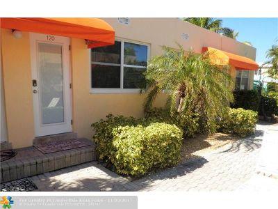 Hollywood Condo/Townhouse For Sale: 336 Arthur St #120