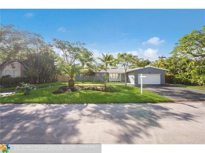 Fort Lauderdale Single Family Home For Sale: 2824 NE 23rd St