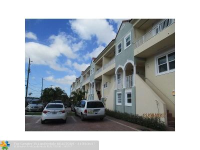 Hollywood Condo/Townhouse For Sale: 351 Virginia St #351