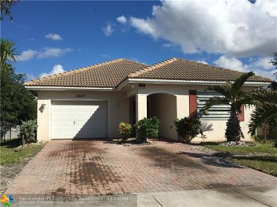 Fort Lauderdale Single Family Home For Sale: 2607 NW 14th St