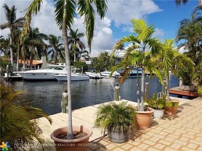Fort Lauderdale Single Family Home For Sale: 639 Poinciana Dr