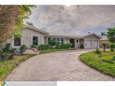 Fort Lauderdale Single Family Home For Sale: 3020 NE 47th St