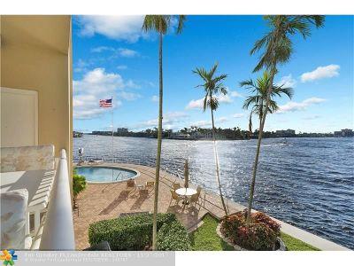 Pompano Beach Condo/Townhouse For Sale: 1201 S Riverside Dr #204