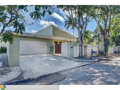 Plantation Single Family Home For Sale: 460 NW 78th Ave