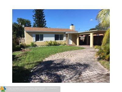 Fort Lauderdale Single Family Home For Sale: 1241 NW 7th Av
