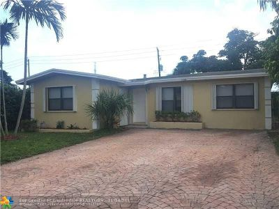 Fort Lauderdale Single Family Home For Sale: 1528 NW 4 St